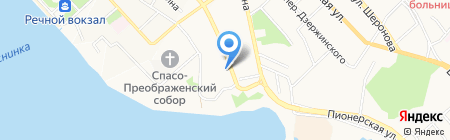 Пасифик-тур на карте Хабаровска