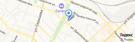 FISH HOUSE MULAR на карте Хабаровска