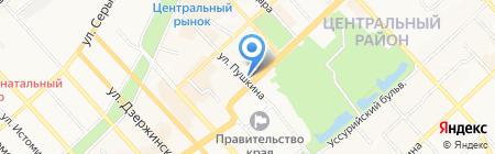 MaxModa на карте Хабаровска