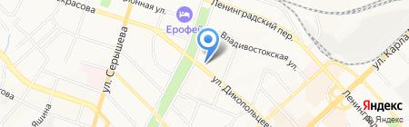 Мир Лодок на карте Хабаровска