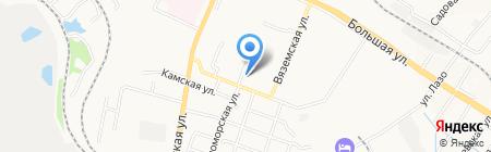 Продукты для Вас на карте Хабаровска