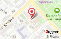 Схема проезда до компании Клуб Работников Силовых Ведомств  в Хабаровске