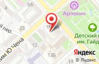 Схема проезда до компании Медиатехнологии в Хабаровске