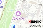 Схема проезда до компании 33 пингвина в Хабаровске