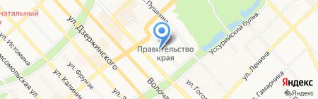 Фонд финансовой поддержки промышленности Хабаровского края на карте Хабаровска