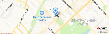 Банкомат Роял Кредит Банк на карте Хабаровска