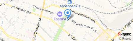 Первая студенческая компания на карте Хабаровска