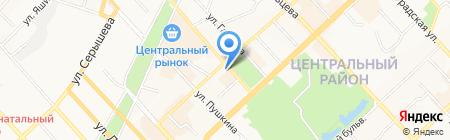 Varra на карте Хабаровска