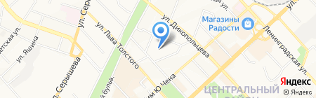 Участковый пункт полиции на карте Хабаровска