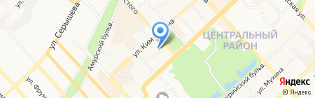Всероссийское общество автомобилистов на карте Хабаровска