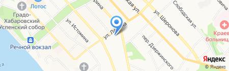 Аппетитнов на карте Хабаровска