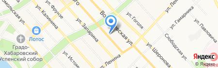 Сервер-Центр на карте Хабаровска