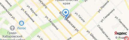 Монолит 133 на карте Хабаровска