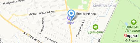 Джип-Центр на карте Хабаровска