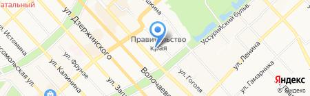 Управление вневедомственной охраны на карте Хабаровска