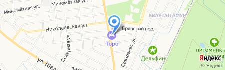 Капторстрой на карте Хабаровска