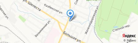 ВИРАНТ на карте Хабаровска