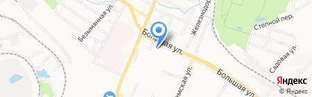 Парикмахерская на Большой на карте Хабаровска