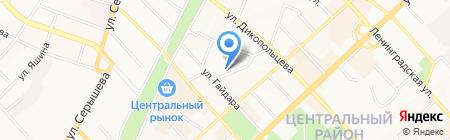 СМТЕЛ-Хабаровск на карте Хабаровска
