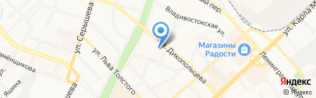 Юротдел на карте Хабаровска