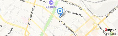101 далматин на карте Хабаровска