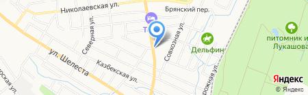 Coffee Town на карте Хабаровска