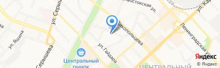 Учебно-курсовой комбинат Министерства ЖКХ Хабаровского края на карте Хабаровска