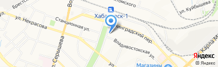 Виктория на карте Хабаровска