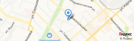 Фуяо на карте Хабаровска
