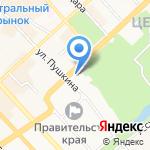Клиника семейной медицины на карте Хабаровска