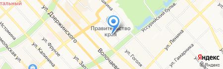ЮНИТЕХНО на карте Хабаровска