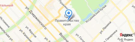 Первый Хабаровский Дайв-Центр на карте Хабаровска