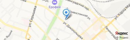 Галерея Интерьеров на карте Хабаровска