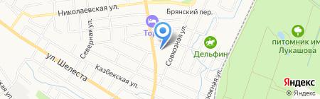 Далянь на карте Хабаровска