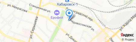 БагетДВ на карте Хабаровска