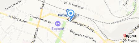 Mobila27 на карте Хабаровска