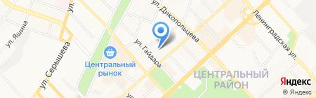 Гастродом на карте Хабаровска