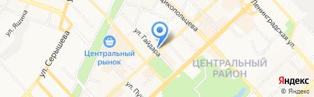 Гарант-Аудит на карте Хабаровска
