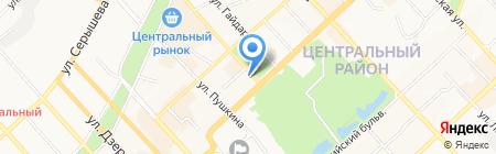 Кико+ на карте Хабаровска