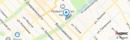 Fortrock на карте Хабаровска