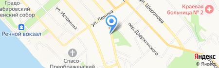 Марат Ка на карте Хабаровска