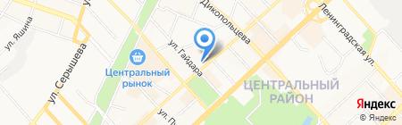 Офис Сервис на карте Хабаровска