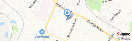 Продуктовый магазин на Беломорской на карте Хабаровска