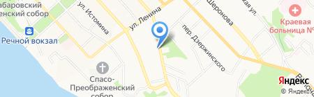 Управление лесами Правительства Хабаровского края на карте Хабаровска