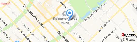 Лилу на карте Хабаровска