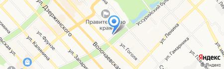 Fantasy на карте Хабаровска