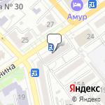 Магазин салютов Хабаровск- расположение пункта самовывоза