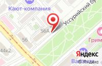 Схема проезда до компании Мой Мир в Хабаровске
