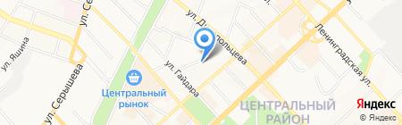 G2 на карте Хабаровска