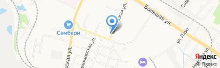 Грандстрой ДВ на карте Хабаровска